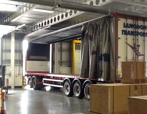 All Doors – relocation of internal warehouse air ducting